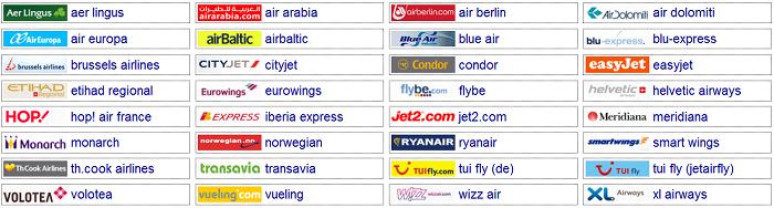 شركات الطيران الاوروبية الاقتصادية