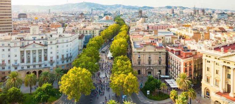 الأماكن السياحية في برشلونة