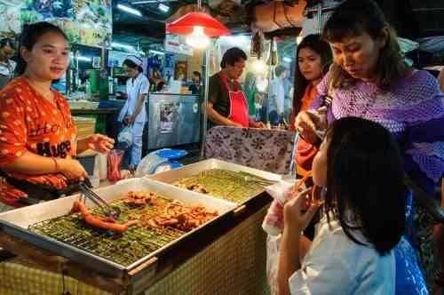 الأسواق الشعبية و الرخيصة في بانكوك