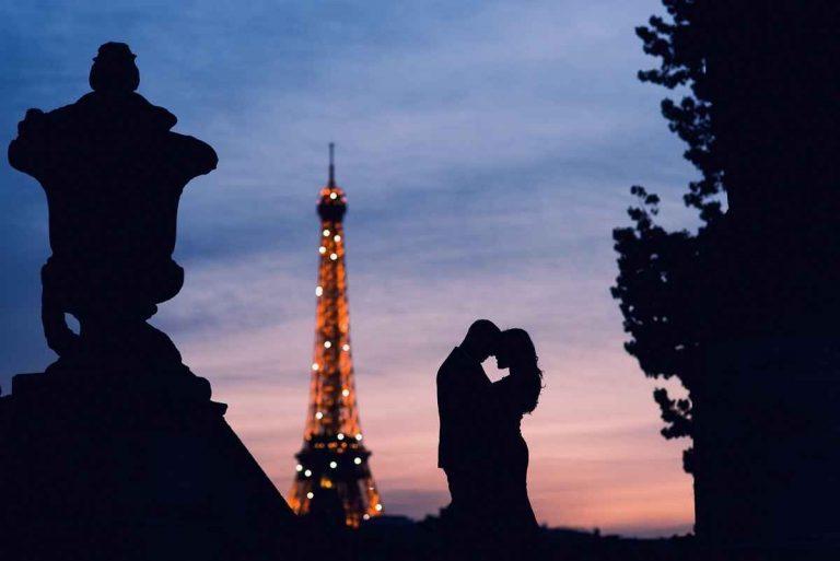 شهر العسل في باريس