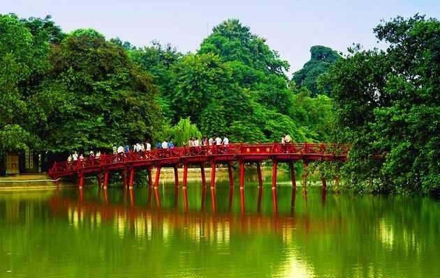 الأماكن السياحية في هانوي