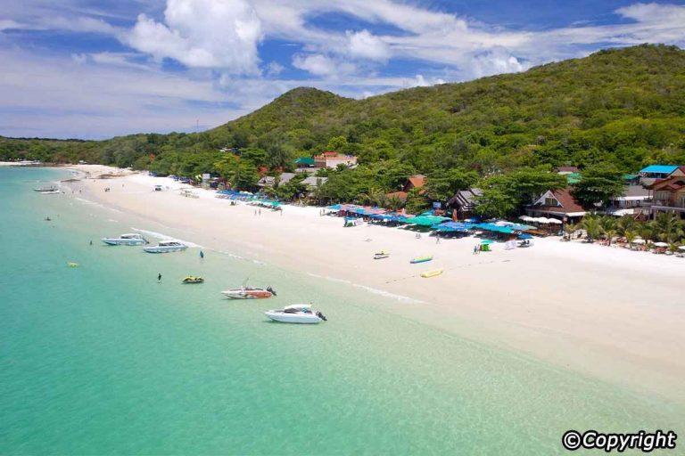 جزر تايلاند القريبة من بانكوك