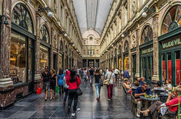 مراكز التسوق والمولات في بلجيكا