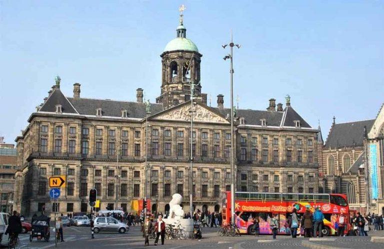 القصر الملكي في امستردام The Royal Palace Amsterdam