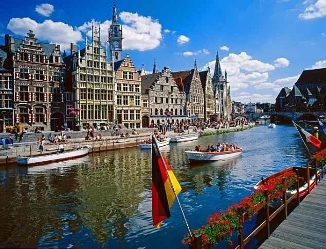 اهم المدن السياحية في بلجيكا