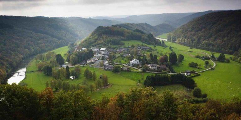 مدن وقرى ريفية من الريف البلجيكي
