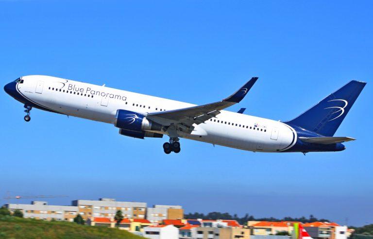 الخطوط الجوية بلو بانوراماBlue Panorama Airlines
