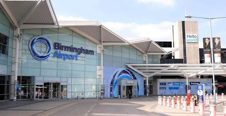 مطار برمنغهامBirmingham Airport