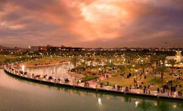 حديقة السلام في أبهاAl Salam Theme Park