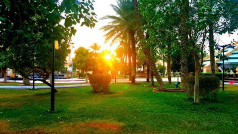 حديقة العليا بالرياض أو حديقة المزرعةOlaya Park