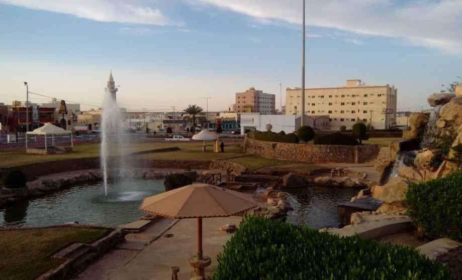 منتزه الشلال بالبكيريةWaterfall Park Bukayriah