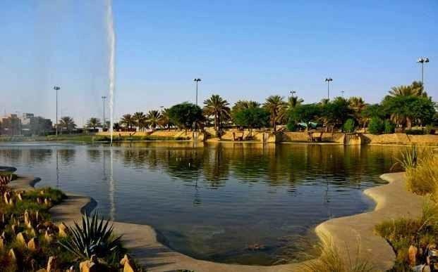 منتزه البحيرة بالمذنبAl Maznab Lake Park