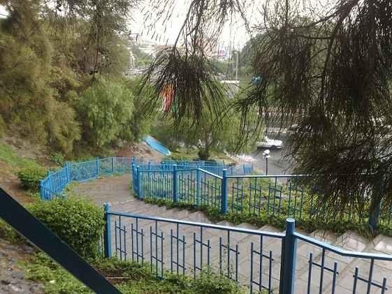 منتزه الشلال بمحاير عسيرThe waterfall park Muhail Asir