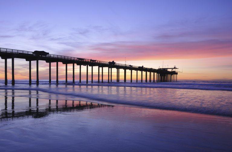 شاطئ لاهويا La Jolla Beach