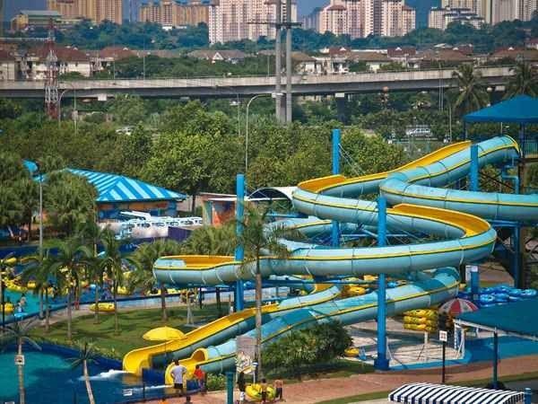 ملاهي الطائف المائيةAlkur Amusement Park