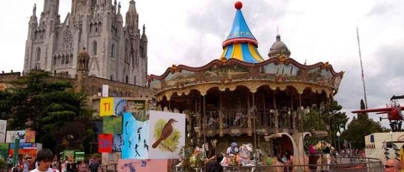 The Tibidabo Amusement Park -ملاهي تيبيدابو