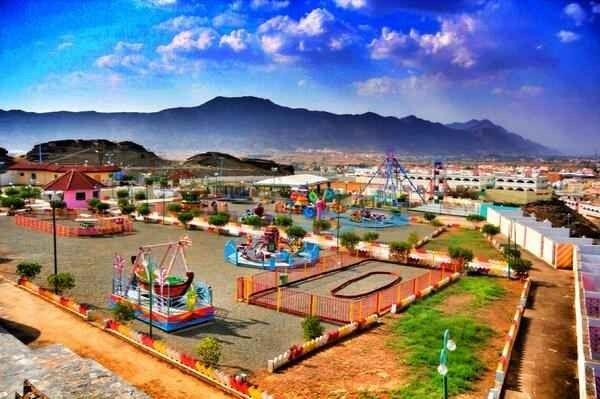 Photo of منتزهات محايل عسير .. حينما تمتزج الجبال بالخضرة الدائمة كلوحة فنية بديعة