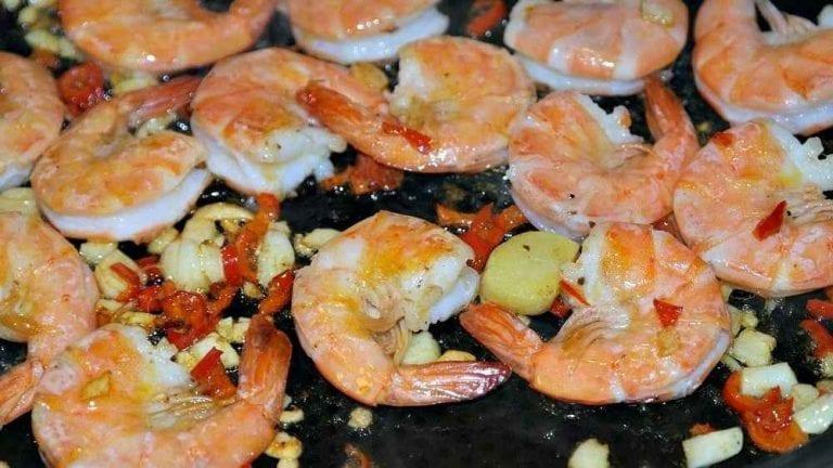 اكلات مشهورة Gambas-Ajillo-768x432