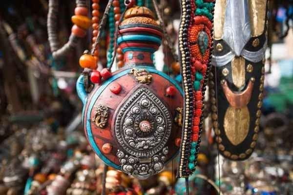 سوق جانباث والتبت Janpath and Tibetan Market