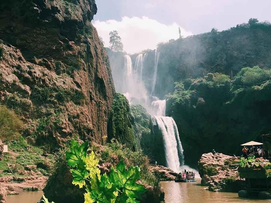 شلالات أوزود Ouzoud Waterfalls
