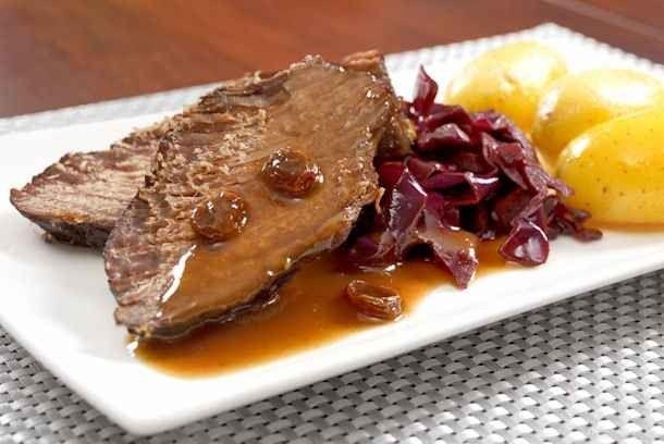اكلات مشهورة Sauerbraten