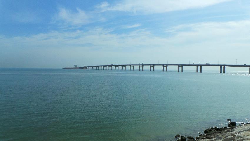 جسر الملك فهد في الخبرThe King Fahd causeway
