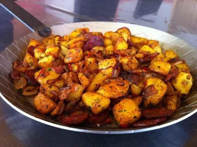 اكلات مشهورة Chorizo-bratkartoffeln-rezept