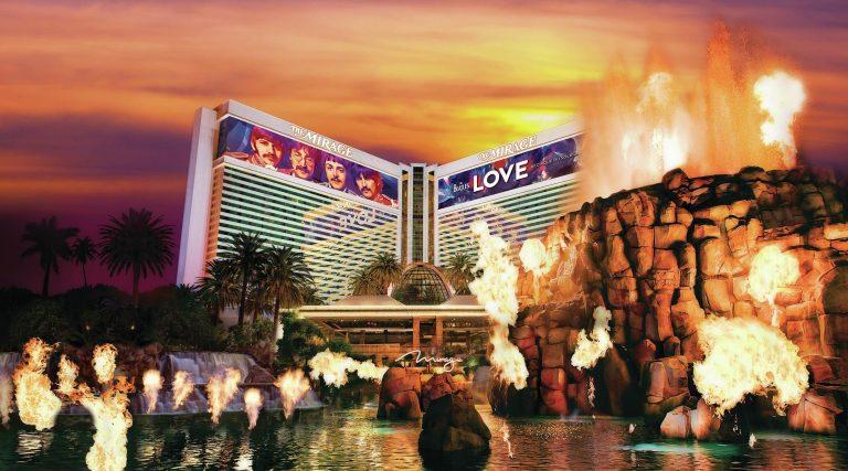 فندق ميراج لاس فيغاس Mirage Hotel Las Vegas