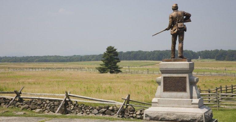 ساحة معركة جيتيسبيرغGettysburg Battlefield