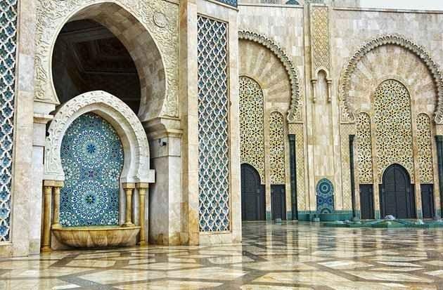 مسجد الحسن الثاني -Hassan II Mosque