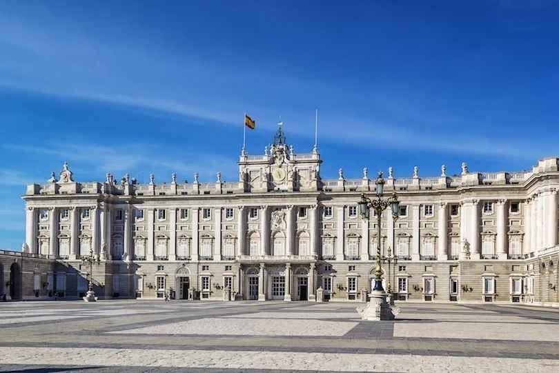 Palacio Real -قصر مدريد الملكي (قصر الشرق)