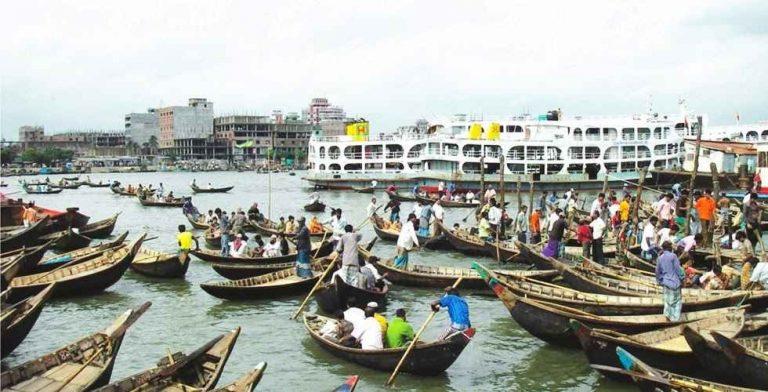 Dhaka River Port -ميناء دكا Dhaka River Port -ميناء دكا