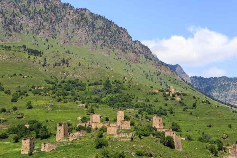 قرية ميتشال Metshal village