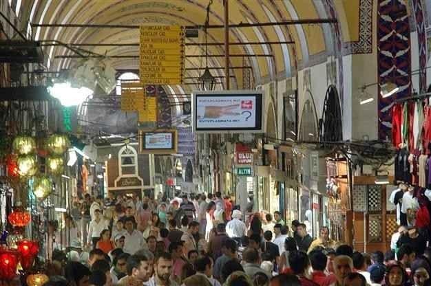السوق الروسي في طرابزون
