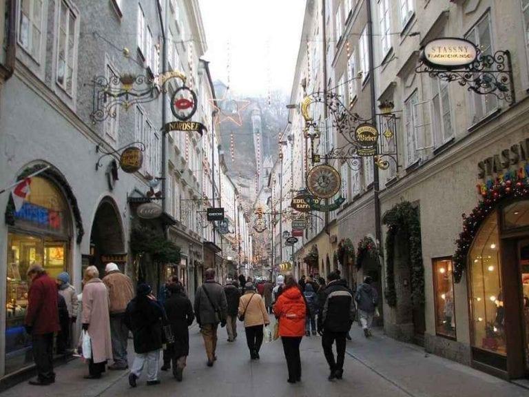 التسوق في النمسا travel to Austria