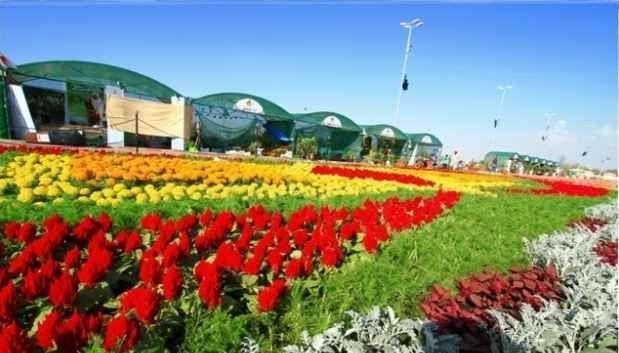 حديقة الزهور بالمدينة المنورة