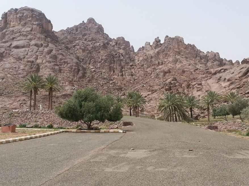 منتزه السلام في حائل Al Salam Park Ha'il