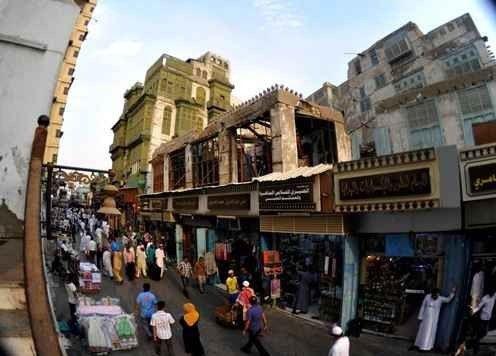 سوق البخارية الشعبي في جدة