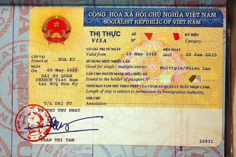 شروط الحصول على تأشيرة الدخول إلى فيتنام