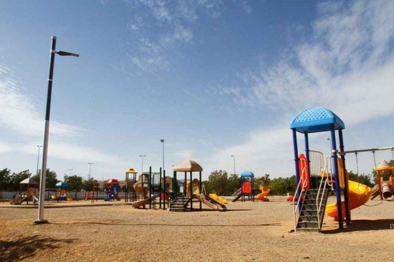 حديقة الملك فهد المركزية بالمدينة المنورة King Fahd Central Park Al Madinah