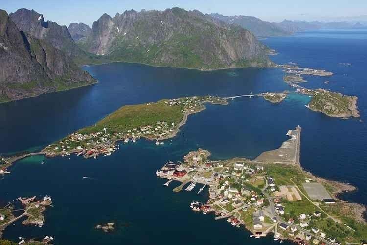 جزر لوفوتن Lofoten Islands