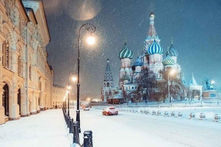 الطقس في موسكو moscow