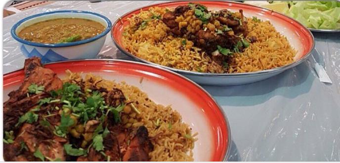 برياني- شرائح لحم الضأن- شعبي - بحريني