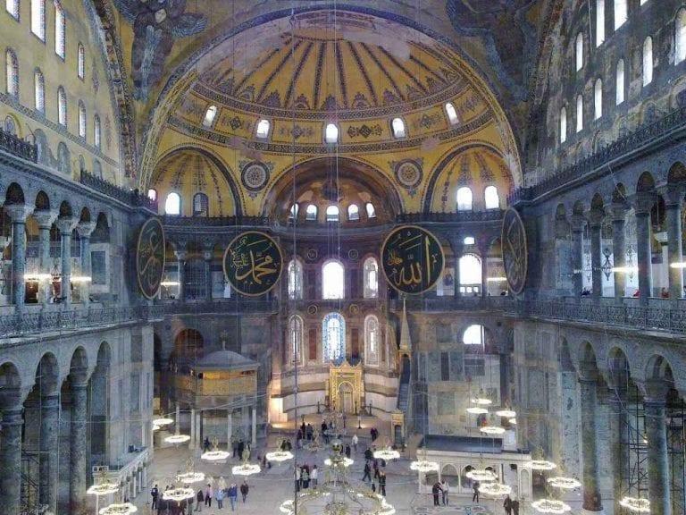 9- مسجد آيا صوفيا: