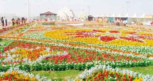 مدينة الورد - الطائف - السعودية