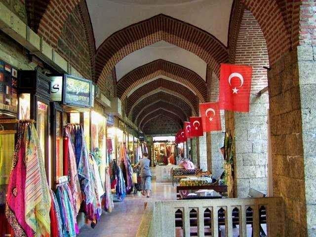 """- سوق الحرير """" كوزا خان"""" ..أقدم الأسواق التركية وأشهرها..."""