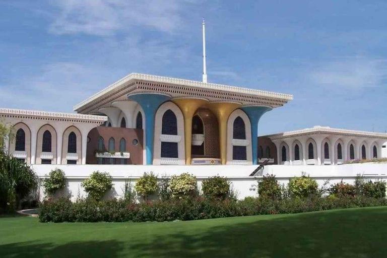 قصر السلطان في صلالة - السياحة في صلالة