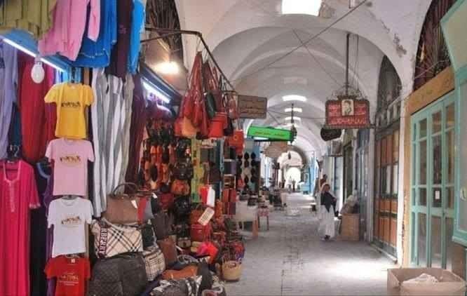 """- سوق """" القماش """".."""
