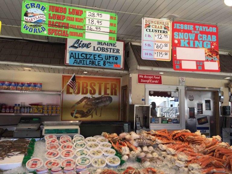 ماركت مين أفينس ماركت Maine Avenue Fish Market