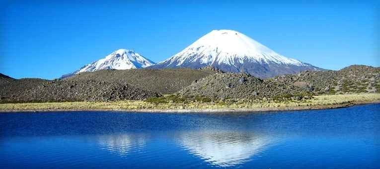 "- البحيرة في ""تشيلي Chilean Lake District"".."
